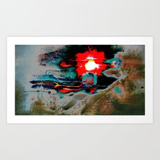 Reality in disguise Art Print