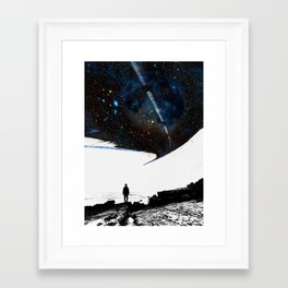 Framed Art Print - The Road Less Traveled - Stoian Hitrov - Sto