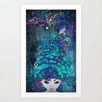 ◯O Art Print