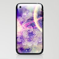Space Mandala Purple iPhone & iPod Skin