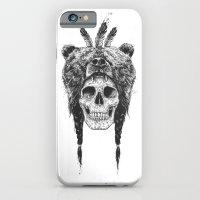 Dead Shaman (b&w) iPhone 6 Slim Case