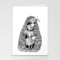 Stack Of Sheep- Feathere… Stationery Cards