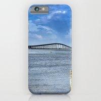 Bridge to sand and sea iPhone 6 Slim Case