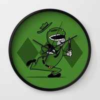 Power Ranger Smith. Wall Clock