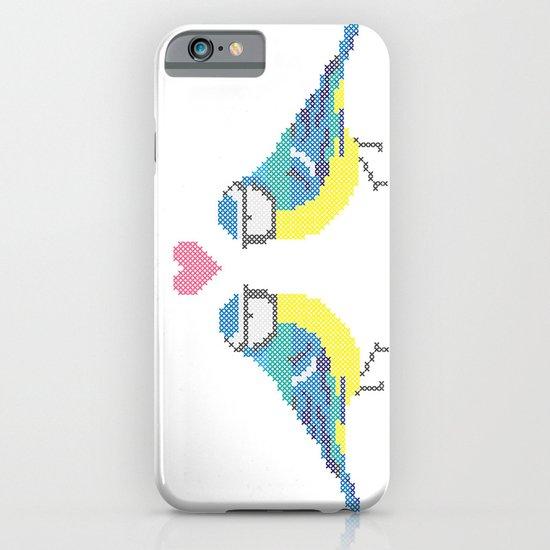 Stitch X Birds iPhone & iPod Case