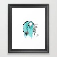 Free Hugs! Framed Art Print