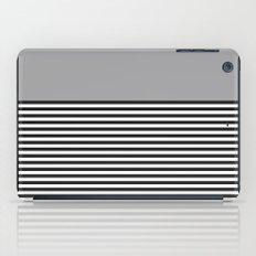 STRIPE COLORBLOCK {GRAY} iPad Case
