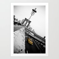 Brooklyn Bridge #1 Art Print