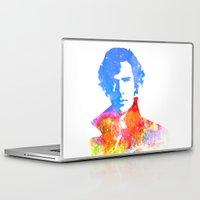 sherlock Laptop & iPad Skins featuring Sherlock by Fimbis