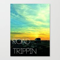 Road Trippin Canvas Print