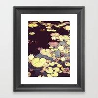 Sea Of Flowers Framed Art Print