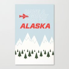 Alaska Trip Canvas Print