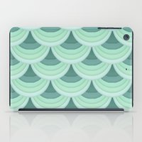 Ocean Fan Tail. iPad Case