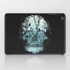 Dark Forest Skull iPad Case