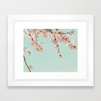 Spring is in the air Framed Art Print