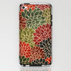 Floral Abstract 7 iPhone & iPod Skin