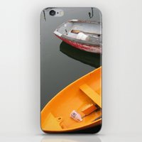 Rockport Rowboats 2 iPhone & iPod Skin