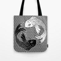 Yin &Yang Tote Bag