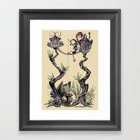 Tree Fun! Framed Art Print
