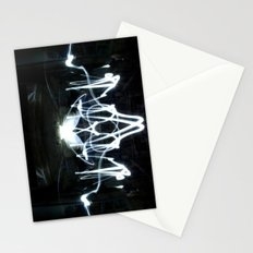 Lights Mirror Image II Stationery Cards