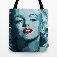Brass Knuckle Marilyn Monroe Tote Bag