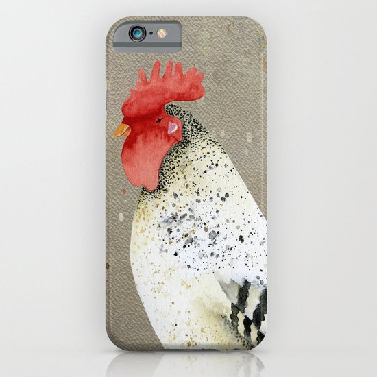 Rooster Wallace iPhone & iPod Case