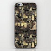 haunted castle iPhone & iPod Skin