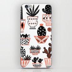 Mid-Century Modern Cacti  iPhone & iPod Skin