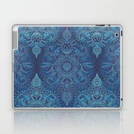 Aqua, Cobalt Blue & Purp… Laptop & iPad Skin