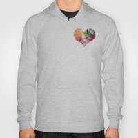 Deco Heart Hoody
