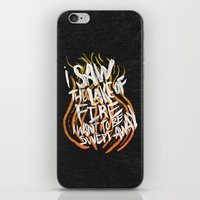 LAKE OF FIRE iPhone & iPod Skin