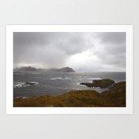 Lofoten Seaview Art Print