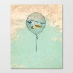 BALLOON FISH Canvas Print
