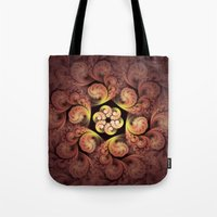 Little Pink Swirls Tote Bag