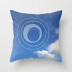 Sky Bubble Throw Pillow