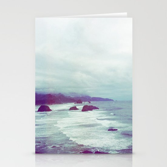 cannon beach Stationery Card