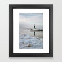 Winter In Holland, Michi… Framed Art Print