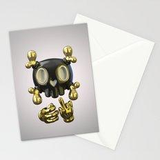 Crossbone SkullToon Stationery Cards