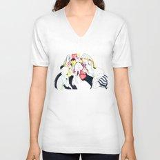 Whe love Fashion 2 Unisex V-Neck