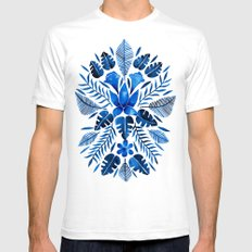 Tropical Symmetry – Na… Mens Fitted Tee White SMALL