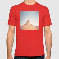 Monument Valley Mens Fitted Tee Red SMALL