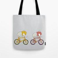 Ride more bikes Tote Bag