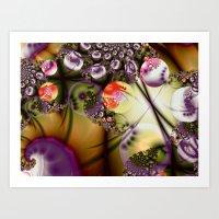 Rusted Spheres Art Print