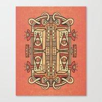 Tribalien Canvas Print