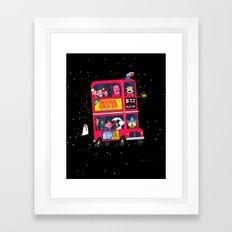 Universal Cereal Bus Framed Art Print