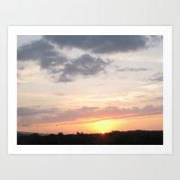Jamaica - Sunsets III Art Print