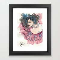 Elegant Fashion Framed Art Print
