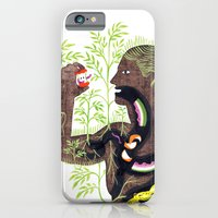iPhone & iPod Case featuring The Soil Man by Genevieve Simms