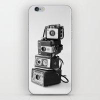 Camera Stack iPhone & iPod Skin