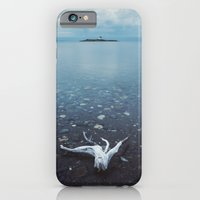 iPhone & iPod Case featuring The Island Lighthouse by Shaun Lowe